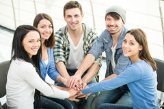 Support Group Royalty Free Stock Photo