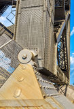 Support of Harbour Bridge in Sydney. Australia Royalty Free Stock Photography