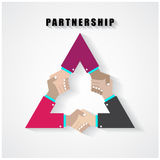 Support and help concept, handshake concept Royalty Free Stock Photo