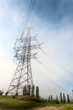 Support high-voltage electric line. Stock Images