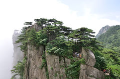 Support Huangshan Images stock