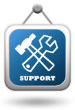 Support icon Stock Photos
