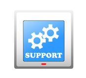 Support icon Royalty Free Stock Images