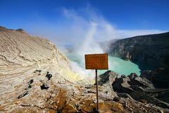 Support Ijen Image stock