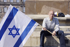 SUPPORT FOR ISRAEL Royalty Free Stock Photos