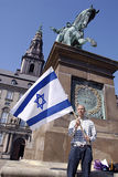 SUPPORT FOR ISRAEL Royalty Free Stock Photo