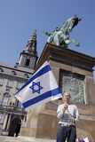 SUPPORT FOR ISRAEL Stock Photos