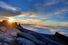 Support Kinabalu photographie stock libre de droits