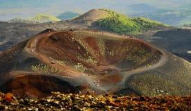 Support l'Etna de volcan Image stock