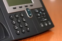 Support line telephone Royalty Free Stock Images