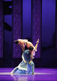 Support for love-The third act of dance drama-Shawan events of the past Royalty Free Stock Photos