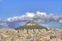 Support Lycabettus à Athènes, Grèce photographie stock libre de droits