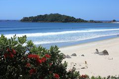 Support Maunganui Photographie stock libre de droits
