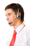 Support operator, isolated Royalty Free Stock Photography