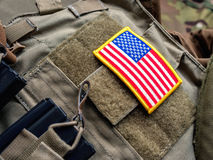Support Our Troops Stock Images