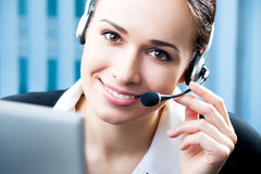 Free Support Phone Operator Stock Photography - 15495262