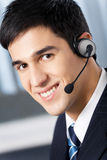 Support phone operator Royalty Free Stock Images
