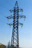 Support power line Stock Image