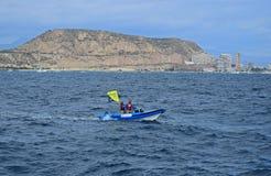 Support Rib Volvo Ocean Race Alicante 2017 Stock Image