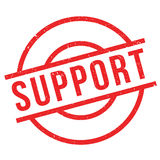 Support rubber stamp Stock Photo