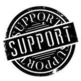 Support rubber stamp Stock Photography