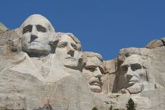 Support Rushmore images libres de droits