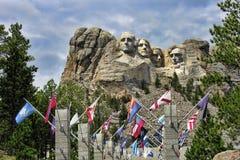 Support Rushmore, le Dakota du Sud Image libre de droits