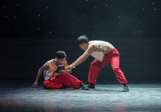 Support sb-the brothers-Modern dance Stock Photography