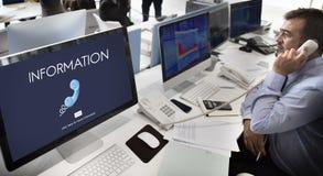 Support Service Information Help Desk Concept Stock Photos