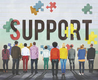 Support Social Help Charity Care Concept Royalty Free Stock Photos