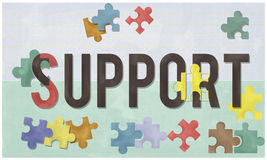 Support Social Help Charity Care Concept Royalty Free Stock Photo