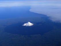 Support Taranaki ou support Egmont de la Nouvelle Zélande Photographie stock