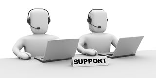 Support team Royalty Free Stock Photo