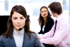 IT-support team Royalty Free Stock Photos