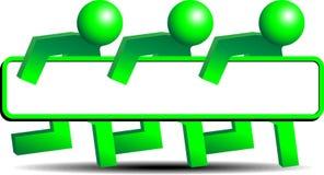 Support technique mobile Image libre de droits