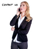 Support telephone concept Royalty Free Stock Image