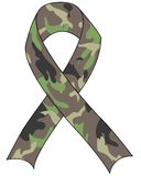 Support the Troops Ribbon royalty free illustration