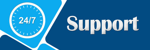 Support Twenty For Seven Stock Images