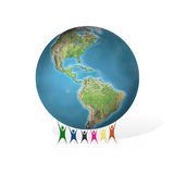 Support your planet Stock Photo