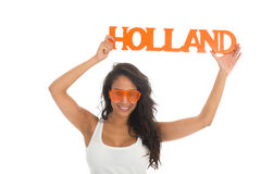 Supporter for Holland Stock Photos