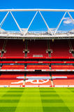 Supporter seating at The Emirates Stadium Royalty Free Stock Image