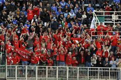 Supporters at RBS 6 Nations Royalty Free Stock Photography