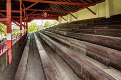 Supporti allo stadio di football americano Fotografia Stock