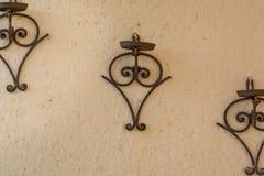 Supporti d'attaccatura ornamentali del vaso Fotografia Stock