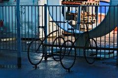 Supporti della bici a Reykjavik Immagini Stock