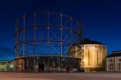 Supporti di gas obsoleti Fotografia Stock