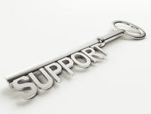 Supporti il tasto Immagine Stock Libera da Diritti