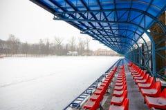 Supporti nell'inverno Fotografia Stock