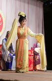 Supporting actress smile, taiwanese opera jinyuliangyuan stills Royalty Free Stock Photo