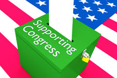 Supportive Congress concept Royalty Free Stock Photography